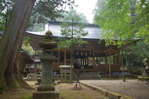 Mugehachimangu Shrine